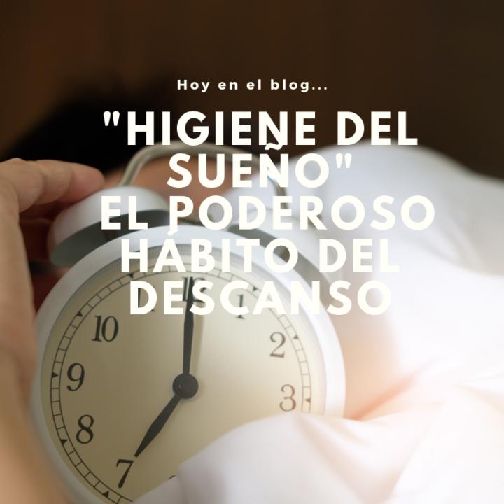 Higiene del sueño. El poderoso hábito del descanso